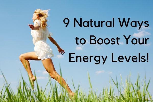 Boost energy levels